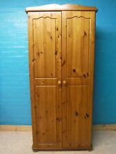 SOLID PINE WOOD DOUBLE 2DOOR WARDROBE - more listed VISIT OUR SHOP IN BIRMINGHAM
