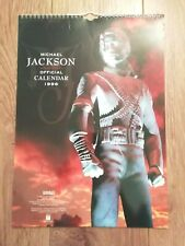 MICHAEL JACKSON * 1996 OFFICIAL CALENDAR * EXCELLENT CONDITION