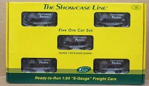 S-Helper Service 00742 Southern Pacific 5-Car Ore Car Set S-Gauge/Scale NIB