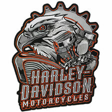 Harley Davidson Authentic Patch - Eagle Engine - XL Emblem Badge