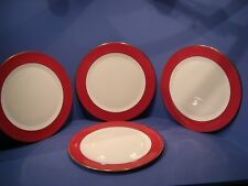 WEDGWOOD CROWN RUBY, SET OF 4 CHARGERS, 31CMS DIA, 1ST QUALITY