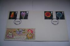 FLOWERS 20th JANUARY 1987 First Day Cover