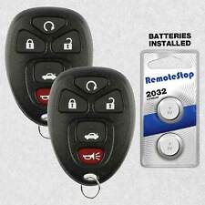 2 For 2006 2007 2008 2009 2010 2011 2012 2013 Chevrolet Impala Remote Key Fob