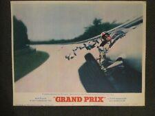 Grand Prix - Original 1967  Lobby Card - James Garner - Car Racing