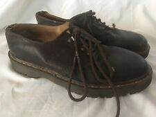 Dr. Martens Oxford Shoes  BrownUS 11 Made In England grunge goth punk