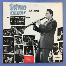 The Dutch Swing College Band - Swing College At Home - Philips BBL-7099 Ex