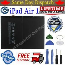 New OEM Replacement Battery for iPad 5th Air 1 A1474 A1475 A1484 8827mAh + Tools