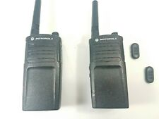 Motorola 2 Way Radios Model RMU2040BHLAA Set of 2 With Batteries Used Working