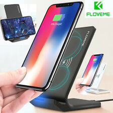 Fast Qi Wireless Charger Charging Pad Stand Dock Mat For Samsung Galaxy S9/Plus