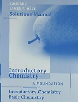Student Solutions Manual for Zumdahl/DeCoste?s Introductory Chemistry: A Foun…