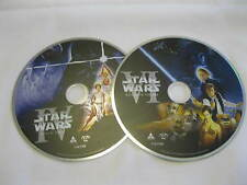 STAR WARS IV - A NEW HOPE// STAR WARS VI - RETURN OF THE JEDI   {DVD}