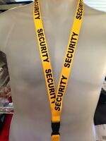 SECURITY  GUARD LANYARD  KEY CHAIN  HOLDER Officer ID Badge