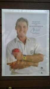 Shane Warne Pair of Posters both the same