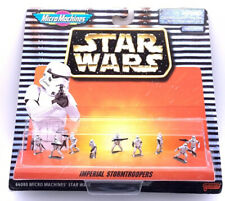 A1 Star Wars Micro Machines Imperial Stormtroopers Action Figure Set Galoob 1996