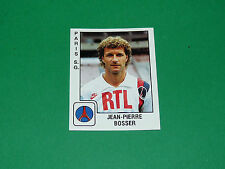 PANINI FOOTBALL FOOT 90 N°255 J-P. BOSSER PARIS SAINT-GERMAIN PSG 1989-1990
