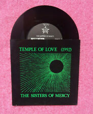 """7"""" THE SISTERS OF MERCY Temple Of Love (1992) - WARNER 9031-77383 GERM (VG+/NM)"""