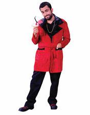NEW CASANOVA PLAYBOY COSTUME HUGH HEFNER SMOKING JACKET HALLOWEEN FREE SHIPPING