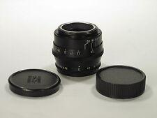 Black Jupiter-8 f/2.0 50 mm m39 RF lens Zorky/Leica  S/N 0193126 MINT-! CLA!