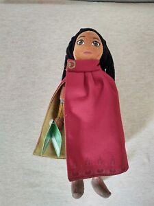 "Disney Raya and The Last Dragon Raya 11"" Plush Doll Stuffed Animal Soft Toy New"