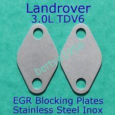 EGR Blanking Plates Landrover's 3.0L TDV6 SDV6 Discovery 4, Range Rover Sport