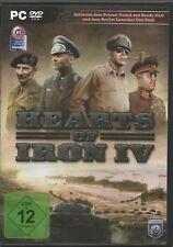 Hearts of Iron IV Cadet Edition (PC, 2016, DVD-Box) sans guide avec steam key