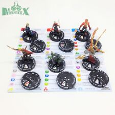 Heroclix Mage Knight: Resurrection set COMPLETE lot of 6 Starter Figures w/card!