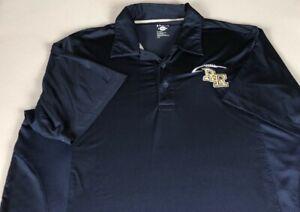 River Ridge Polo Shirt Mens Medium Dri-Fit RR Knights Georgia High School Alumni
