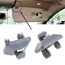 Gary Inner Sun Visor Hook Clip Bracket Hanger For Audi A1 A3 A4 A5 Q3 Q5