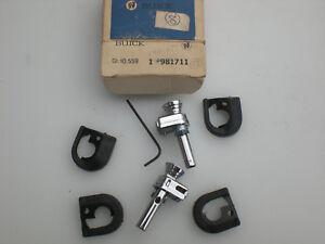 1971-1976; BUICK ALL 4 DOOR MODELS - NOS REAR DOOR LOCK KNOB SAFETY KIT #981711