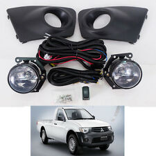 For 09-14 Mitsubishi Triton L200 Pickup Ute Fog Lamp Light Spot Light Kit