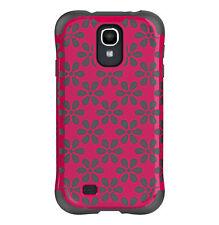 Ballistic Samsung Galaxy S4 - Flowers/Pink/Charcoal Urbanite Case AP1157-A015