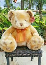 Teddy Bear Plush Stuffed Animal Large Golden Baby Decor King America Classic