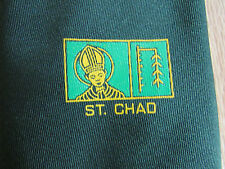 St CHAD Possibly School 100% Polyester Tie