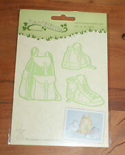 Leane Creatief cutting die 1499 SNEAKERS & BACK PACK
