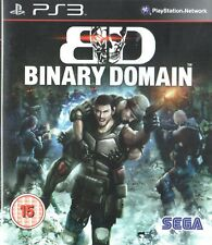 Binary Domain Sony Playstation 3 PS3 15+ FPS Shooter Game