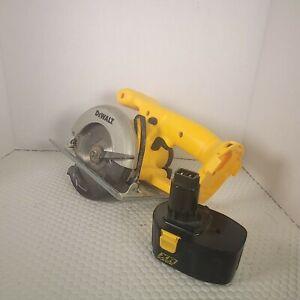 DeWALT DW935 14.4V Cordless Circular Saw with battery