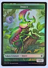 SACRED CAT TOKEN x4 ~mtg EX//NM Amonkhet  Double-Sided INSECT