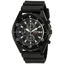 Casio AMW330B-1A Men's Analog Chronograph Silicone Sports Band Divers Watch