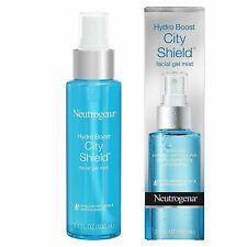 NIB Neutrogena Hydro Boost City Shield Facial Gel Mist 3.3oz