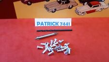 DINKY TOYS Lot de 20 rivets + 2 forêts pour Corgi toys Cij JRD Solido.....