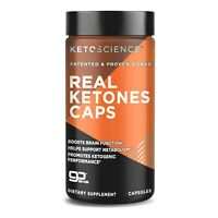 KetoScience REAL KETONES Beta-Hydroxybutarate GoBHB EXOGENOUS KETO DIET 56 caps