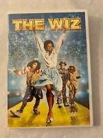 The Wiz DVD Michael Jackson Diana Ross Richard Pryor New Sealed