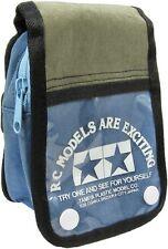 Genuine Tamiya Mini 4WD Zipper Arm Bag Blue + Green RARE
