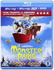 A Monster in Paris (Bluray 3D  Bluray  DVD)