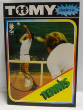 CONSOLE TOMY ELECTRONIC TENNIS NEW RARE VINTAGE TESTED OLD STOCK