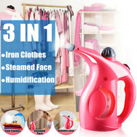 3 In 1 Garment Steamer  PP 200 ml Portable Handheld Iron Steamer Brush