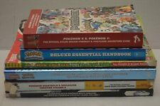 Lot of (6) Official Pokemon Strategy Guides & Pokedex Paperback Books