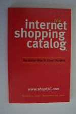 The Internet Shopping Catalog Book Vintage eCommerce Online Reference Very Rare