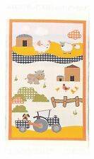 1:12 Scale 19cm x 10.3cm Farm Play Mat Dolls House Oblong Carpet Accessory 5608