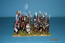Wargames figuras Napoleónico francés línea 28mm BN 36 figuras